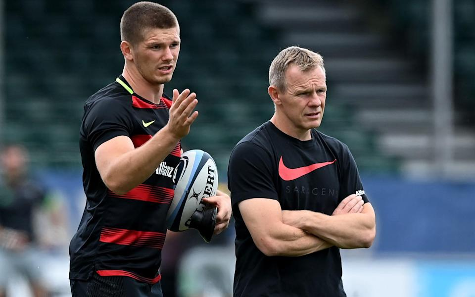Mark McCall joined Saracens in 2009 - GETTY IMAGES