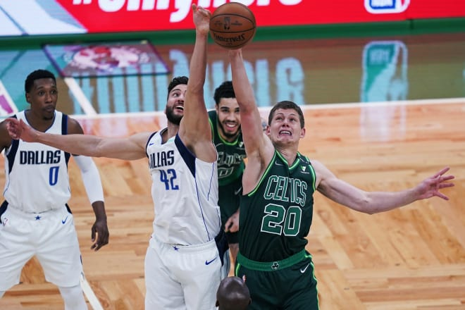 Former Michigan Wolverines basketball forward Moe Wagner was waived by the Boston Celtics April 16.