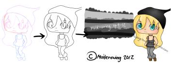How To Draw Alamond Step 14