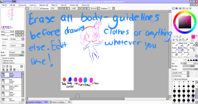 Pandy in a ball gown tutorial step 10