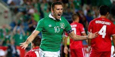 Robbie Keane Irlanda
