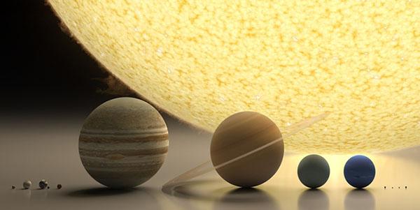 Sistema Solare in scala