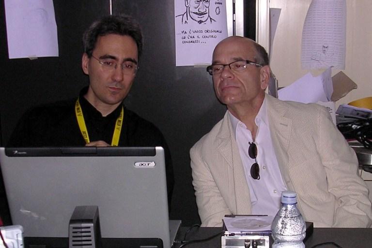 Marcello Rossi e Robert Picardo