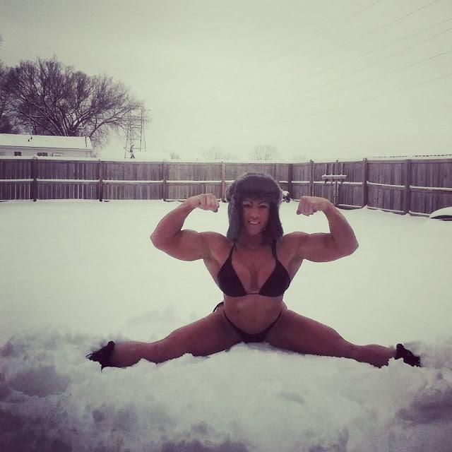 Muscoli sulla neve