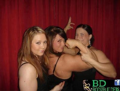 Che muscoli la nostra amica