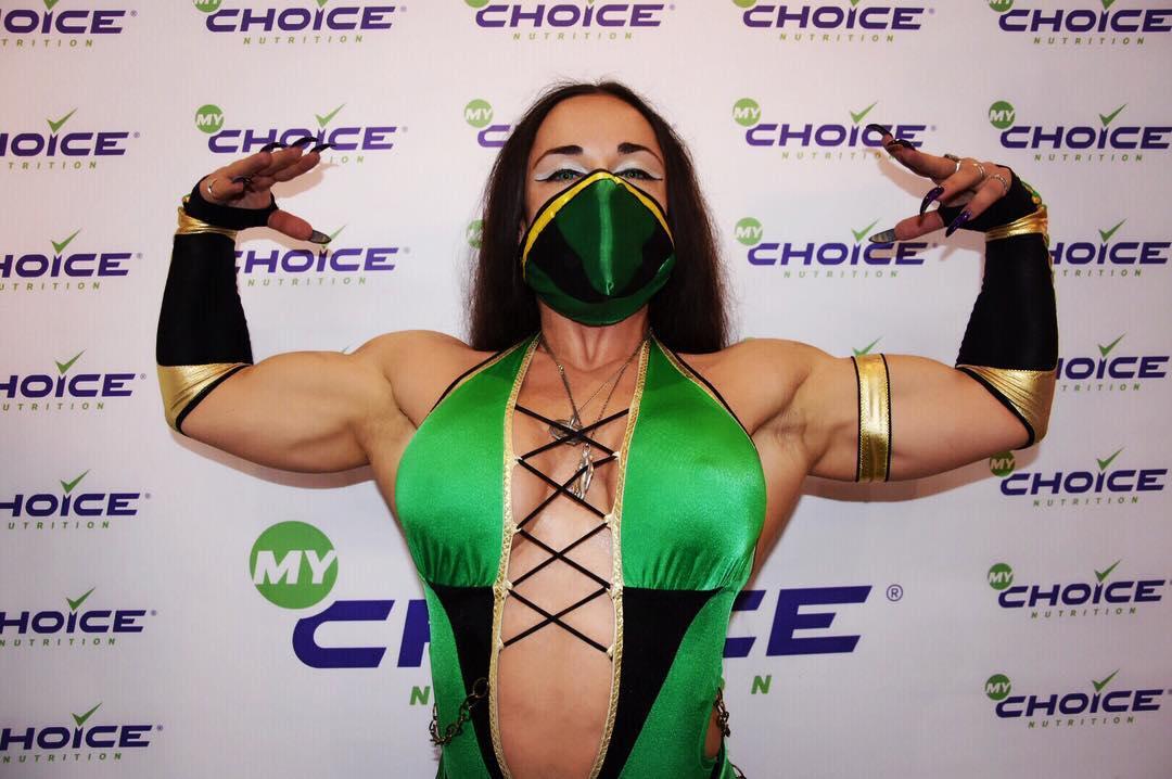 Jade ha i muscoli