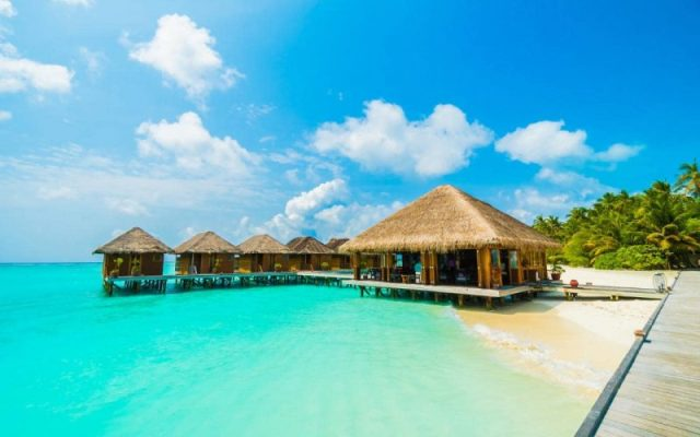 Maldives - clearest waters