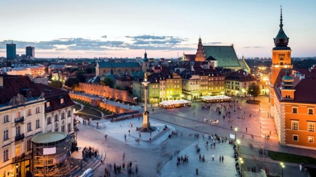 Warsaw, Poland - top historical sites