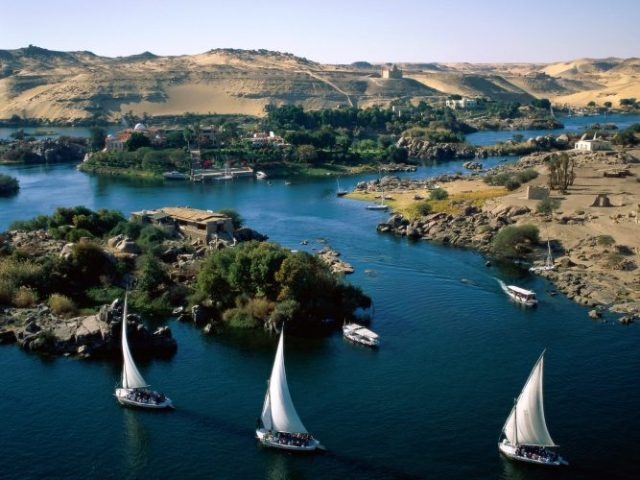 Nile River, North-East Africa - longest rivers