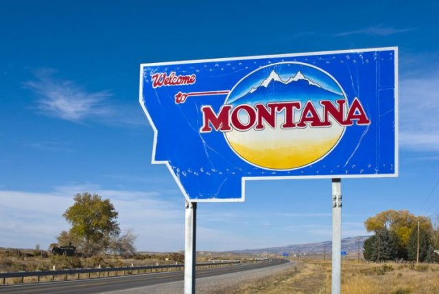 Montana - last states to join the united states