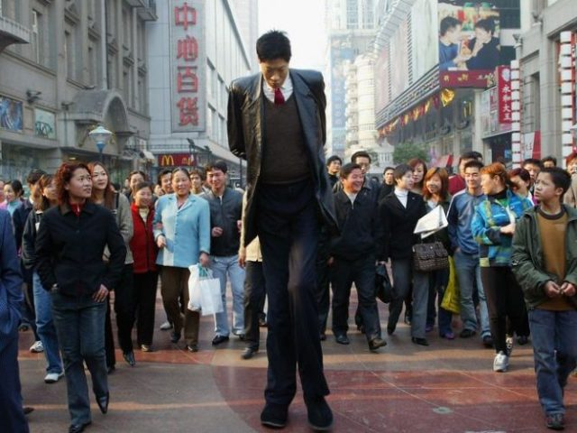 Zhang Juncai - tallest men