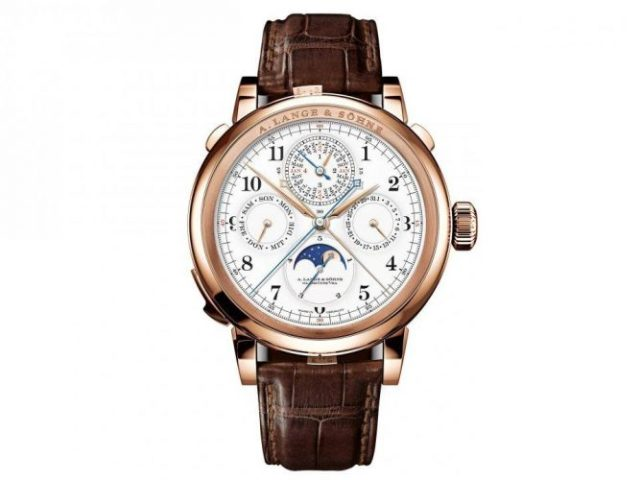 A. Lange & Sohne's Grand Complication - most expensive watches