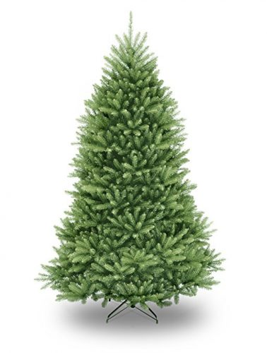 National Tree 7.5 Foot Dunhill Fir Christmas Tree, Hinged (DUH-75) - best christmas decoration