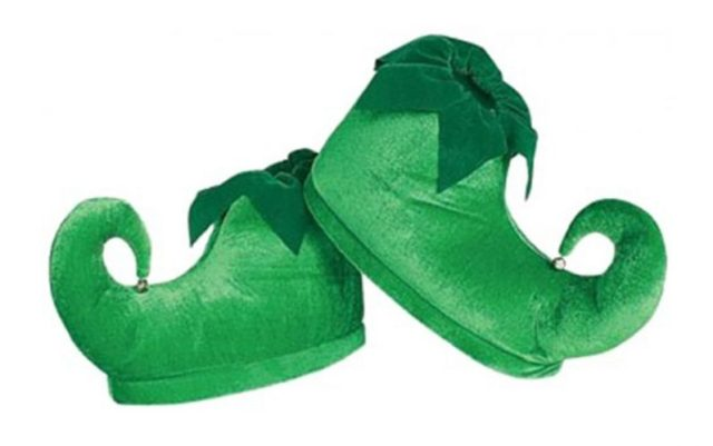 Rubie's Costume Deluxe Elf Shoes - christmas shoes