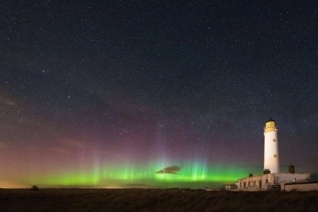 Scotland - destinations for aurora borealis or northern lights