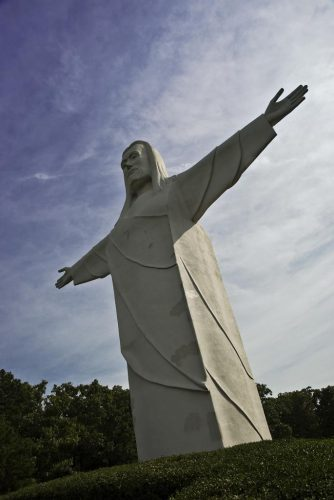 Christ of the Ozarks - famous Jesus statues