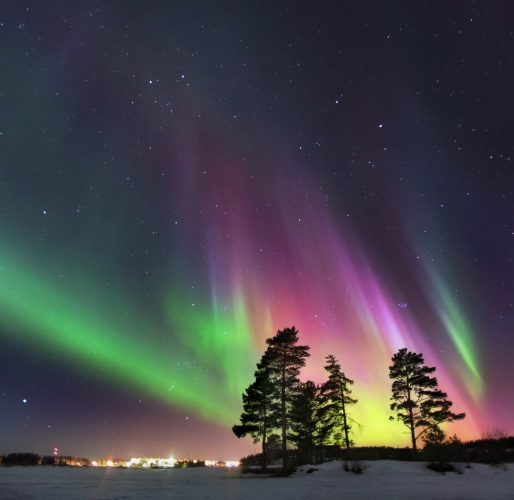 Russia - destinations for aurora borealis or northern lights