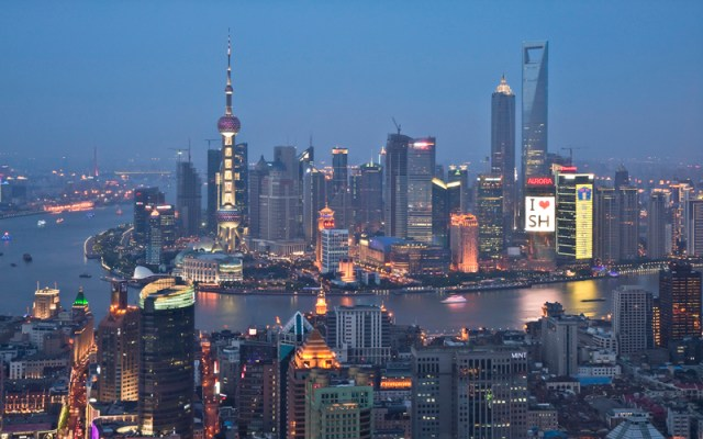 shanghai - most expensive cities in Asia