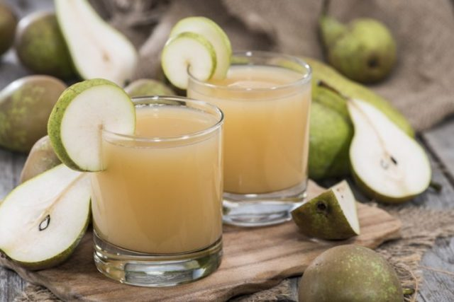 Pear Juice - Foods to Cure a Hangover