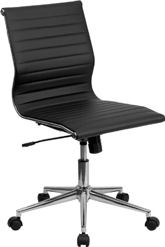 Flash Furniture Mid-Back Armless - Best Office Chairs