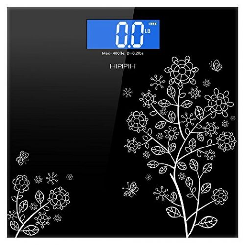 Hippih 400lb/180kg Electronic Bathroom Scale - Digital Bathroom Scale