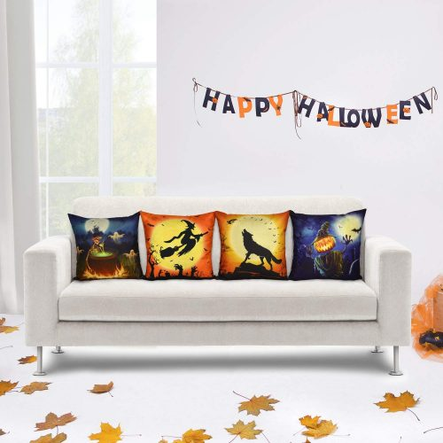Elyhome Halloween Pillow - Halloween Pillow Covers