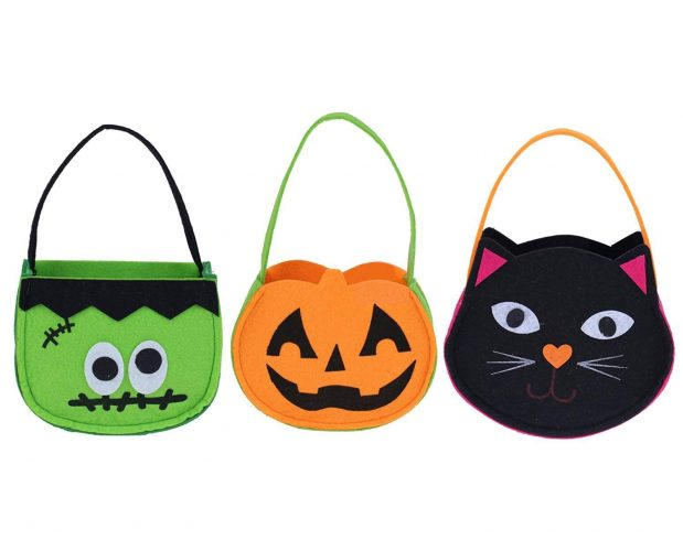 NIGHT-GRING Candy Totes Bag - Halloween Treat Bags
