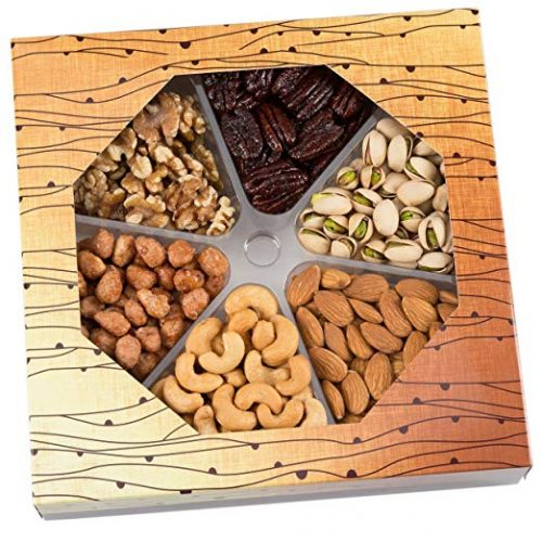 CeeGee's Holiday Nuts Gift Basket - Roasted Nuts
