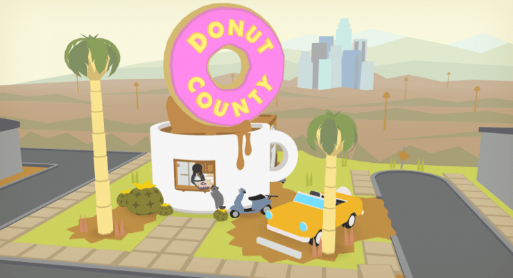 Image result for donut county
