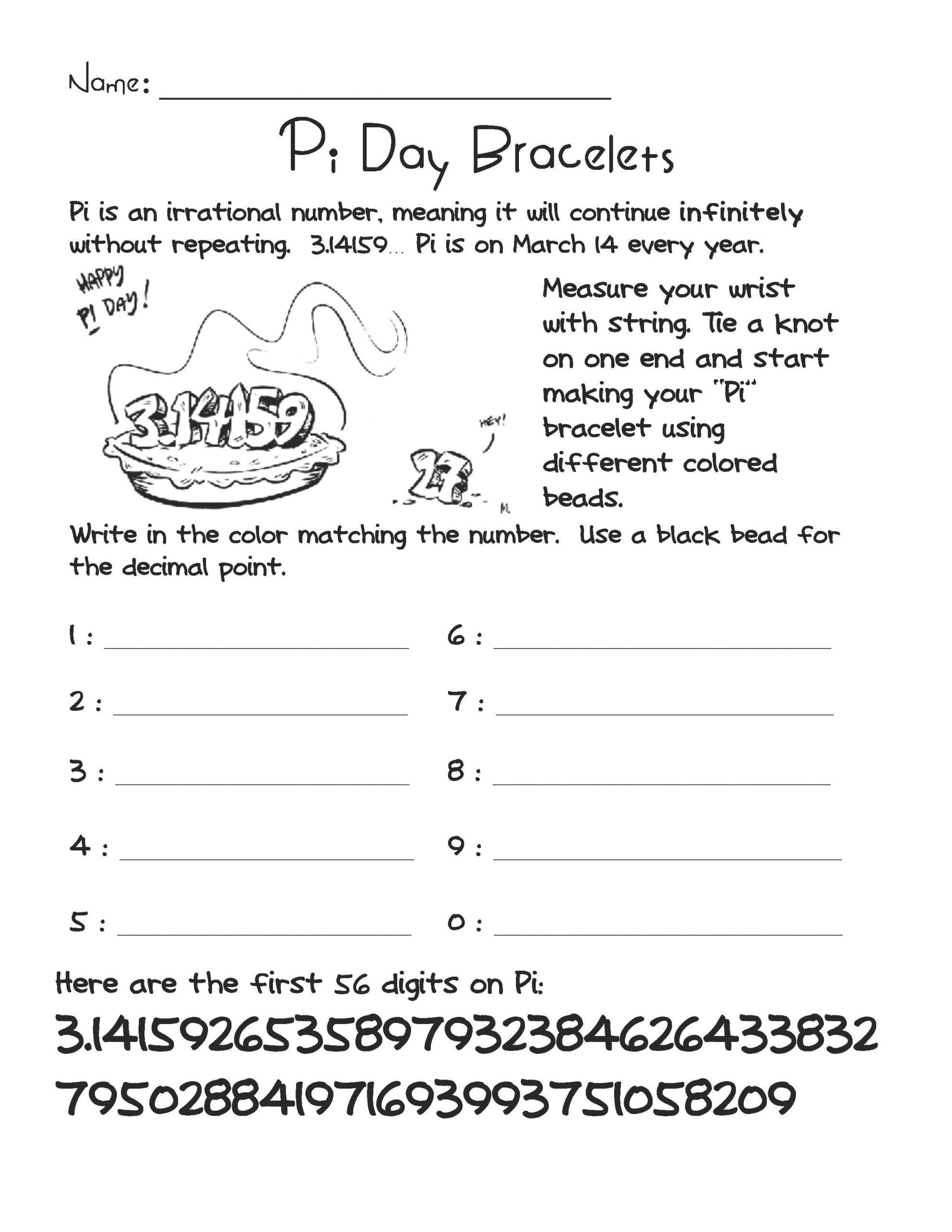 21 Ideas For Middle School Math Pi Day Activities