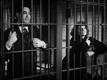 Cary Grant and Katharine Hepburn trailer still from Bringing Up Baby (1938)
