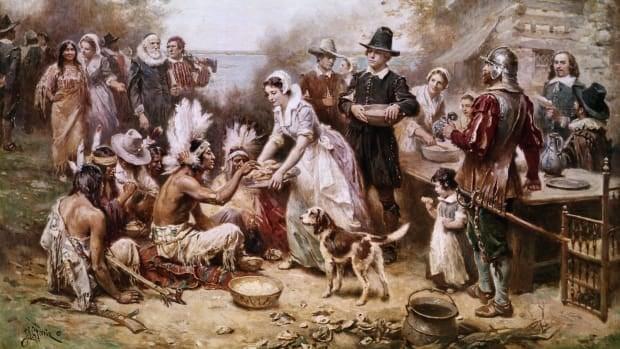 朝圣者感恩节