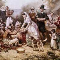 The pilgrims didn't actually leave England because of religious persecution. They left because they were staunch Puritan conservatives and didn't think the church was strict enough.