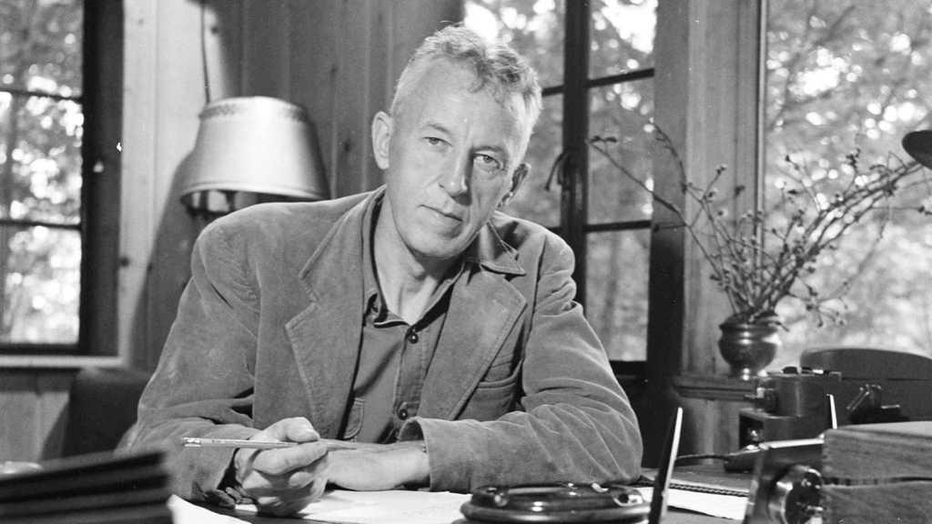 Bill Wilson at desk