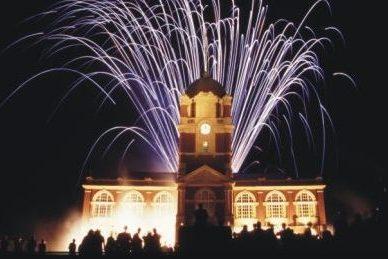 RMA Sandhurst Graduation Ball fireworks