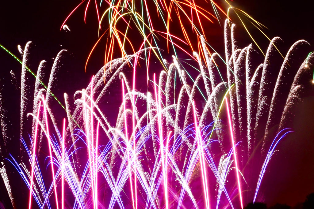 Professional Fireworks Displays | Wedding Fireworks