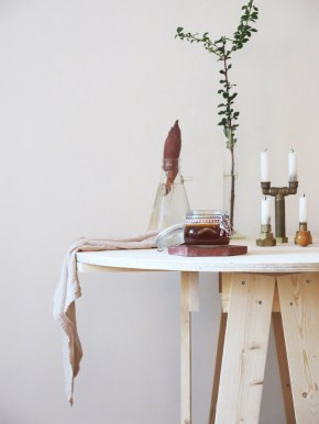 Ida Lauga Fantastic Frank wood table