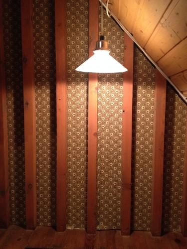 lampa på övre våningen