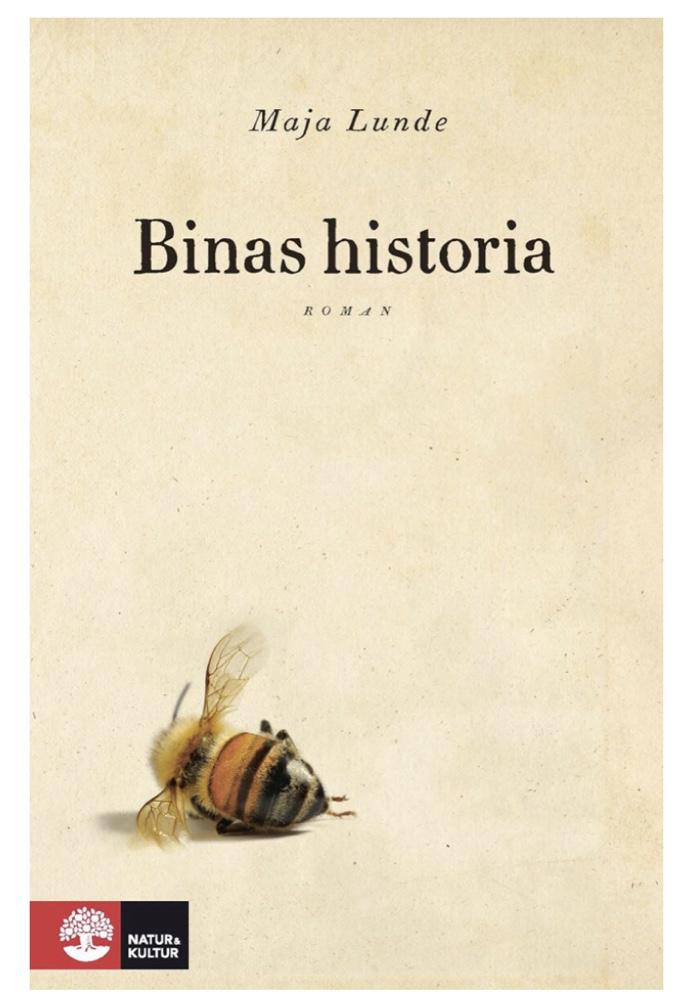 Bokomslag, ett dött bi