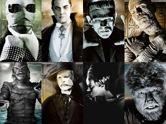 Monstros dos estúdios Universal
