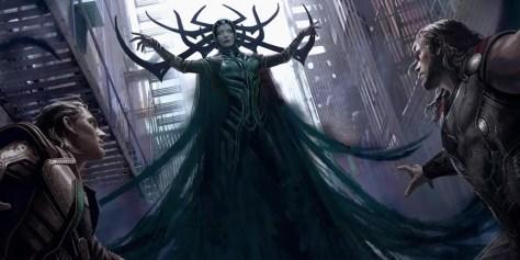 Na Mitologia, Hella é filha de Loki com a gigante Angrboda
