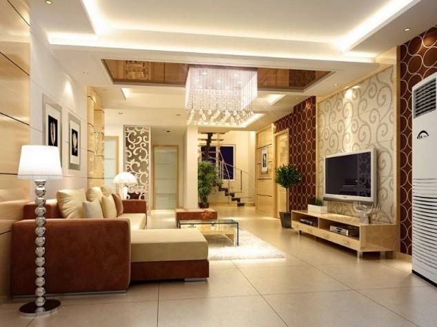 Hall Tv Wall Interior Design Novocom Top