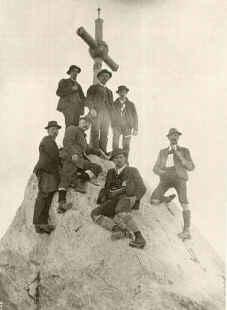 Auf der Ellmauer Halt 1900