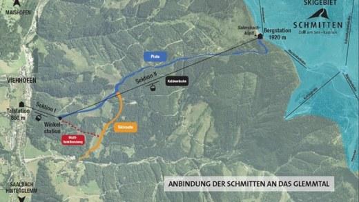 Route zell am see viehofen