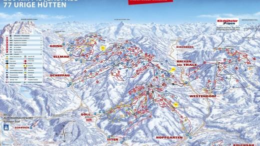 Panorama SkiWelt 2015 2016