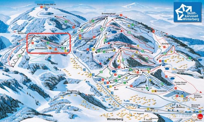 Winterberg Skimap
