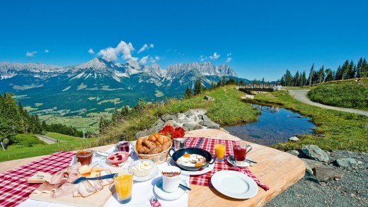 SkiWelt ontbijten