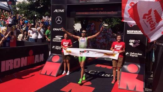 Ironman 70.3 Zell am See 2016 Finish 2016
