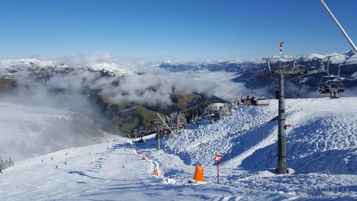 Skigebied Kitzbühel Resterkogel geopend