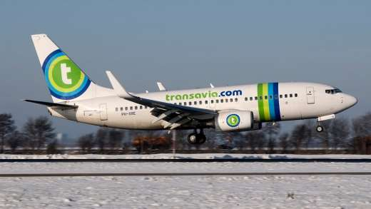 """Transavia piloten laten krokusvakantiegangers in de """"vries""""kou staan"""